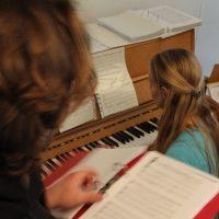 Chor Kiel Encantados beim Proben